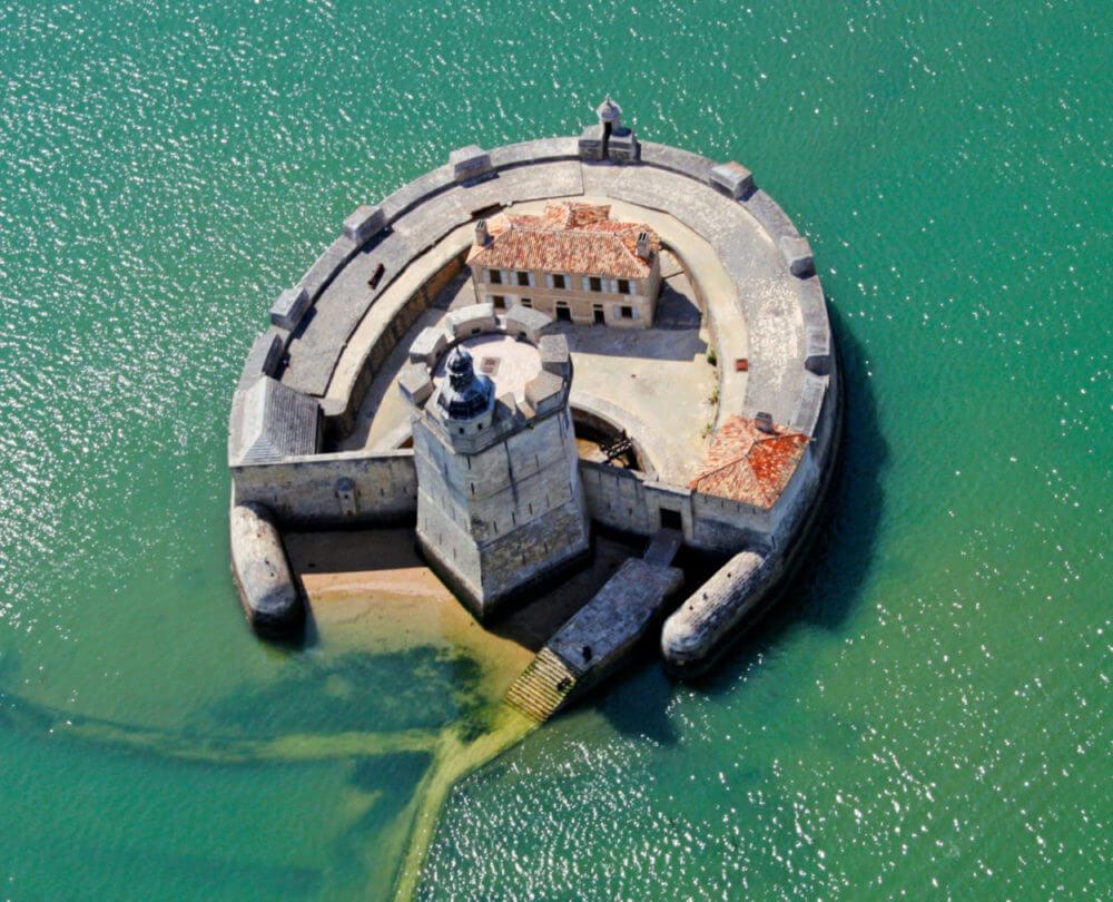 Fort Louvois vue du ciel