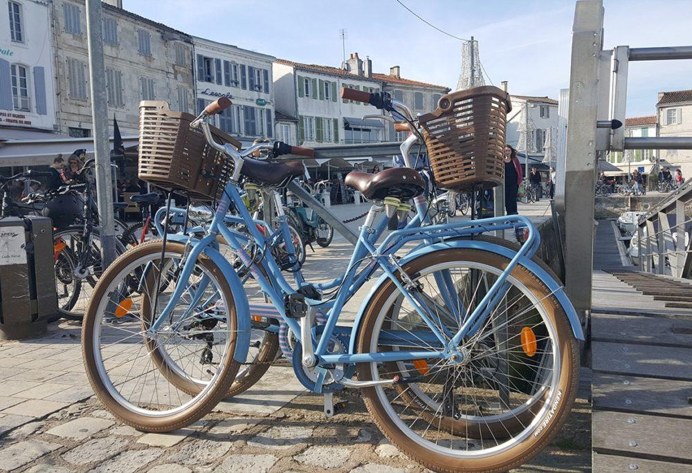 Vélos à Saint-Martin-de-Ré