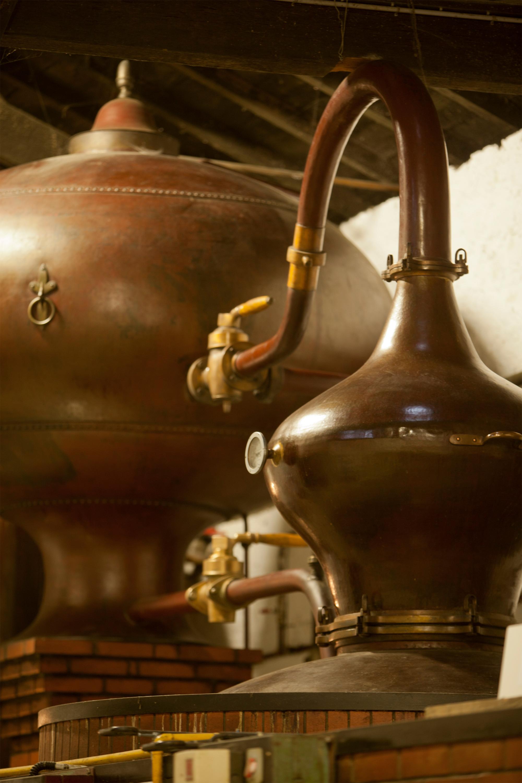 Processus Cognac en Alambic