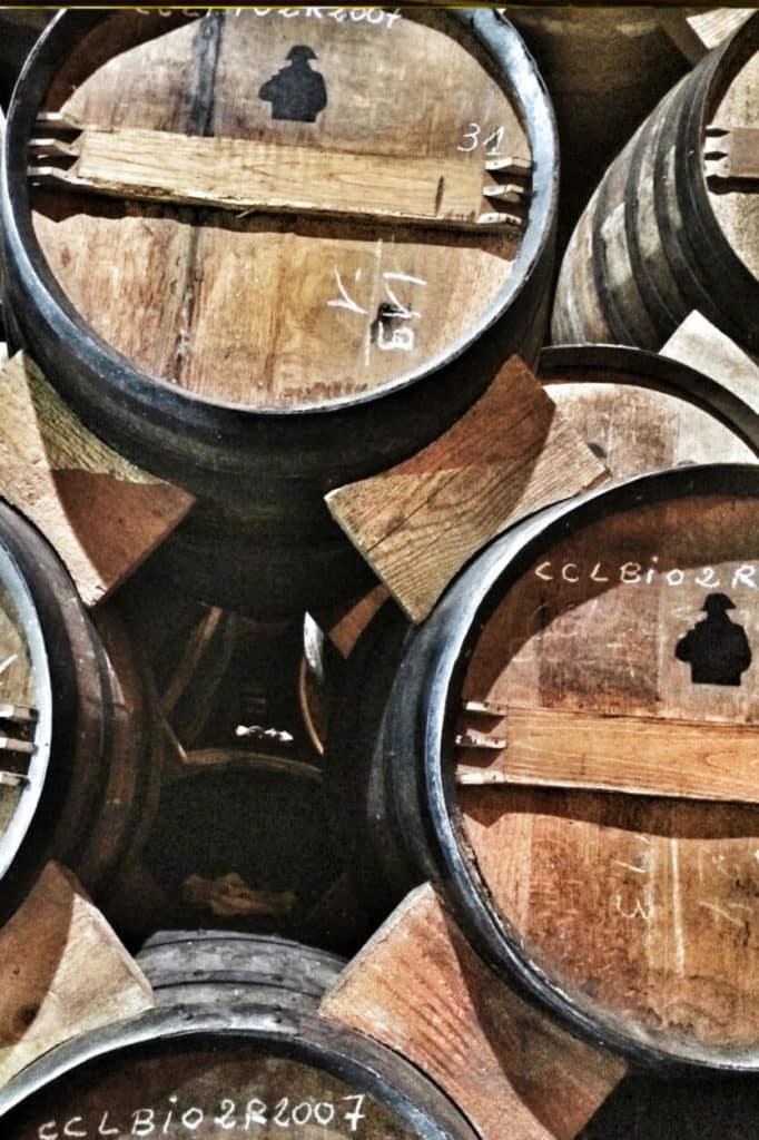 Processus Cognac le Vieillissement