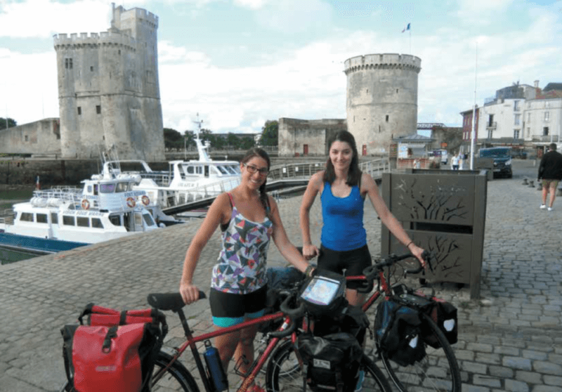 Aline Velodyssee a La Rochelle