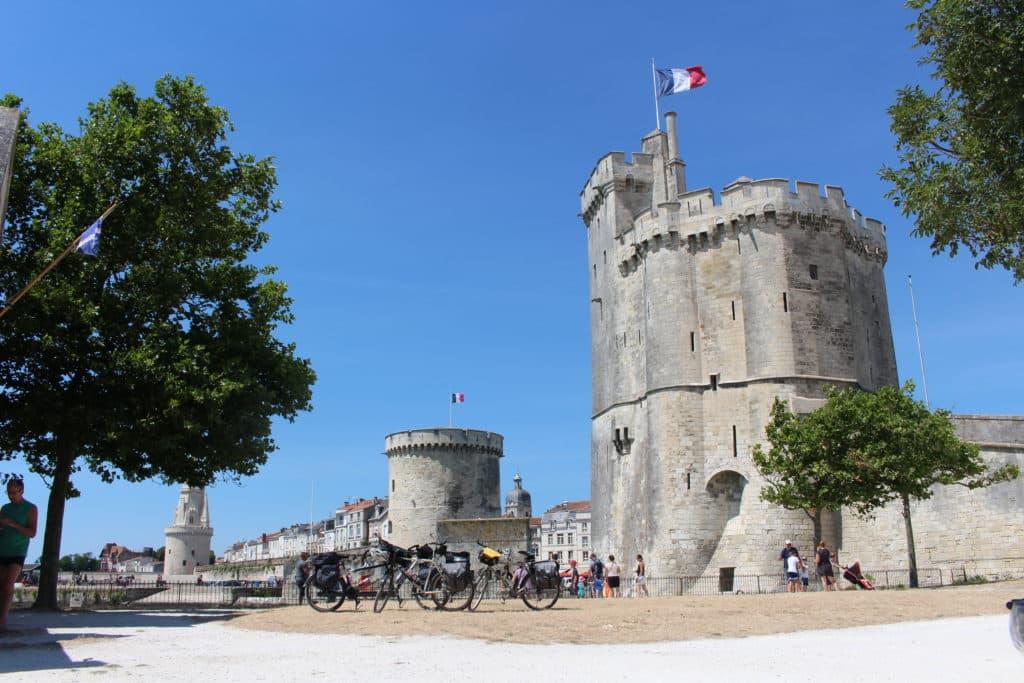 tours du vieux port de La Rochelle