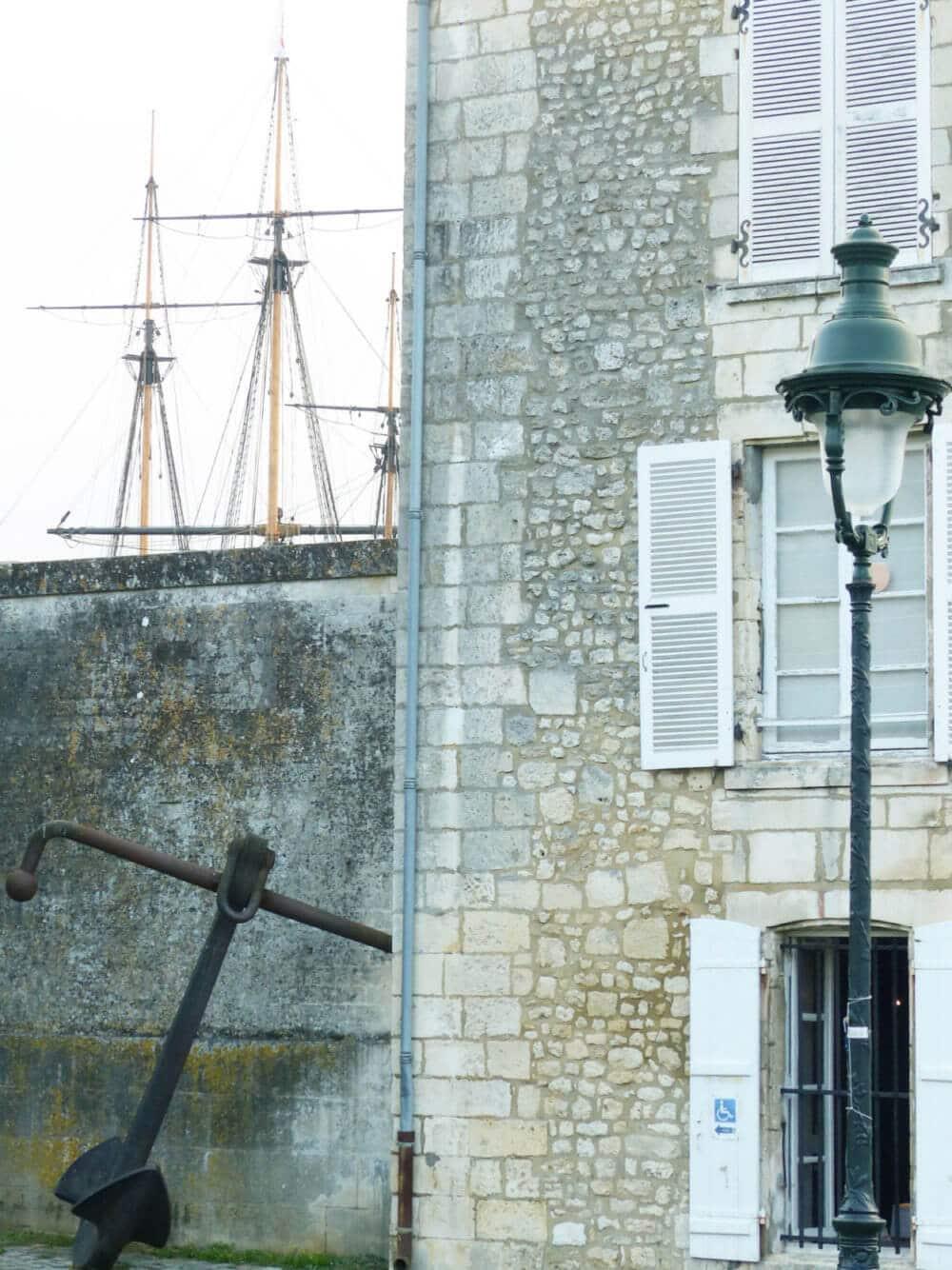 Arrivée a Rochefort Charente-Maritime
