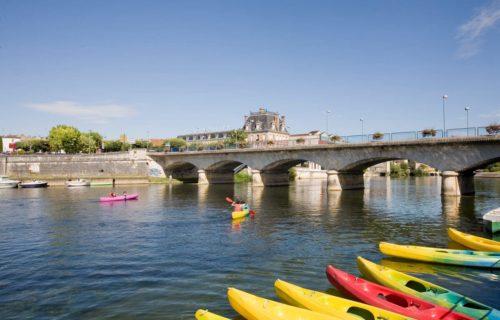 Canoës sur la Charente