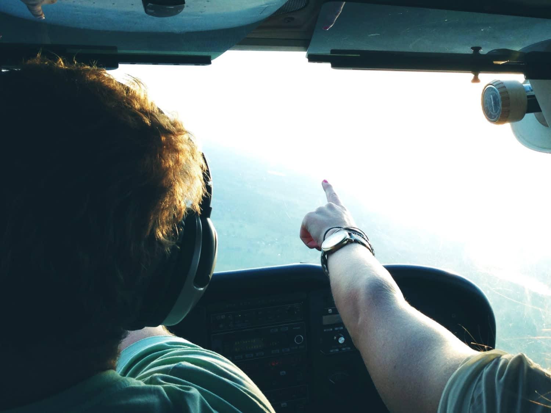 Visite en hélicoptère charentes
