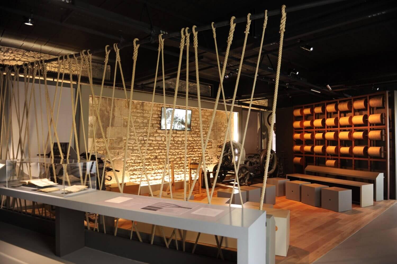 Corderie Royale de Rochefort - Intérieur du musée