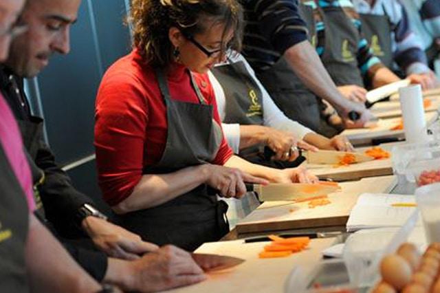 Cours de Cuisine découpe Coutanceau