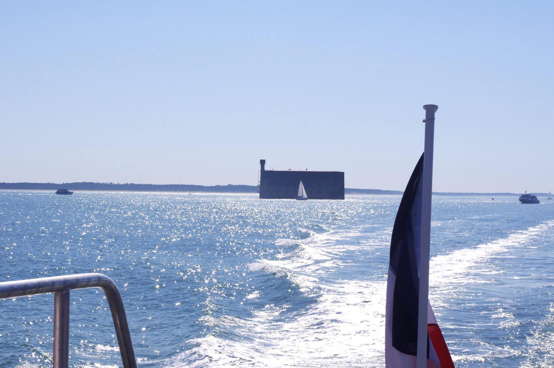 Fort Boyard vue