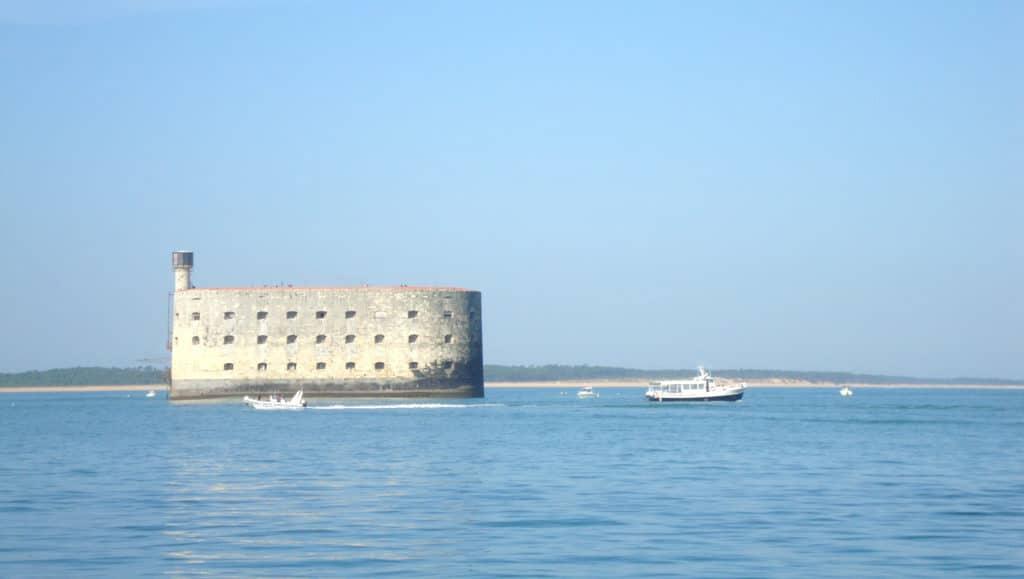 Vue sur le Fort Boyard