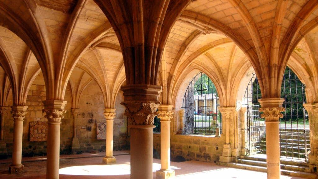 l'abbaye de Fontoudouce à Saintes