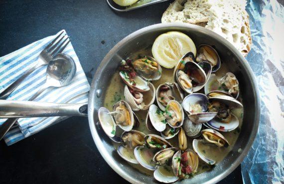Cuisine de palourdes, Charente-Maritime
