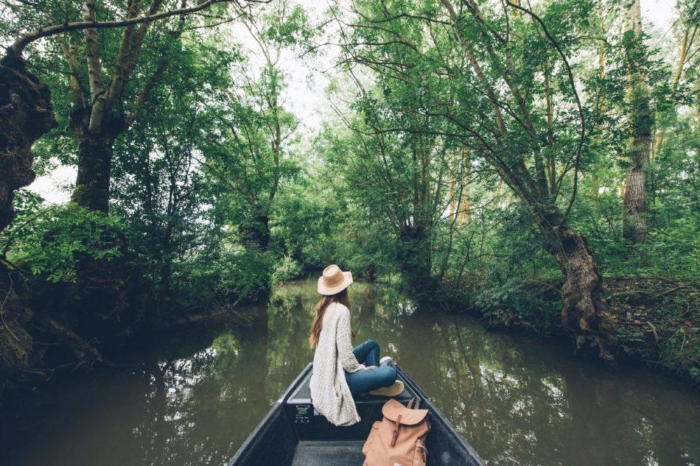 Le Marais Poitevin en barque, avec Elisa et Max - activités nature