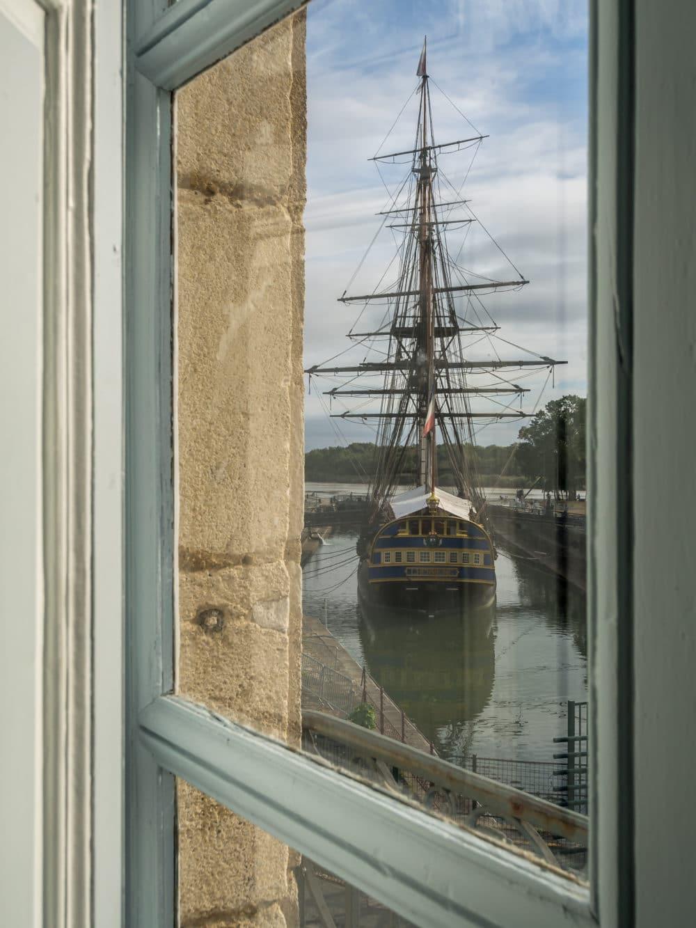 Musée de la marine Rochefort L'Hermione