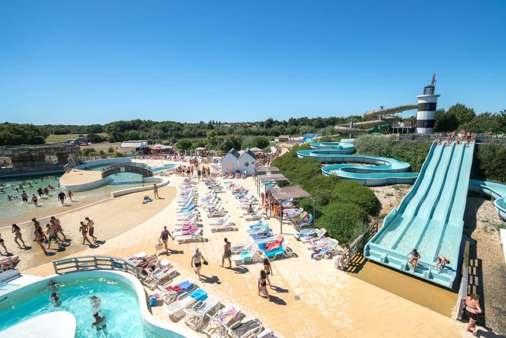 Iléo, parc aquatique à Dolus d'Oléron