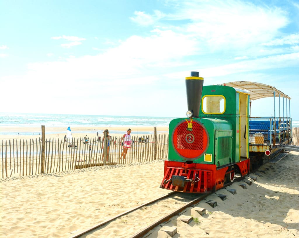 Le petit train de Saint-Trojan-les-Bains