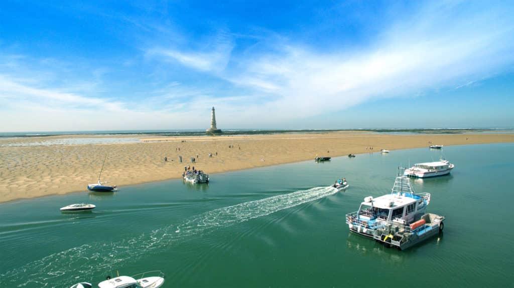 visite du phare de Cordouan dans l'estuaire de la Gironde