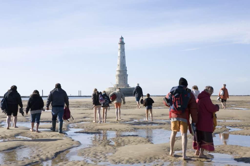balade autour du phare de Cordouan