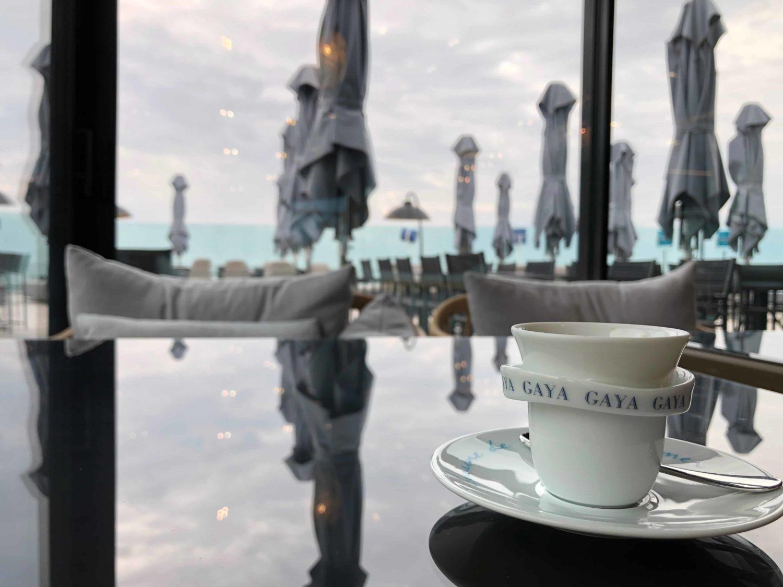 Plaisir café au restaurant Gaya de Chatelaillon