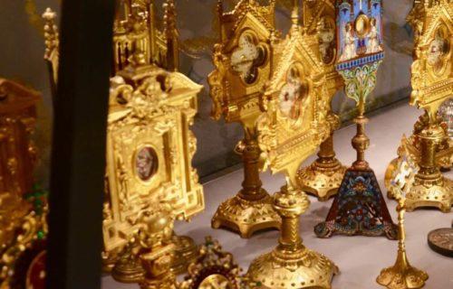 Reliques, Cathédrale d'Angoulême