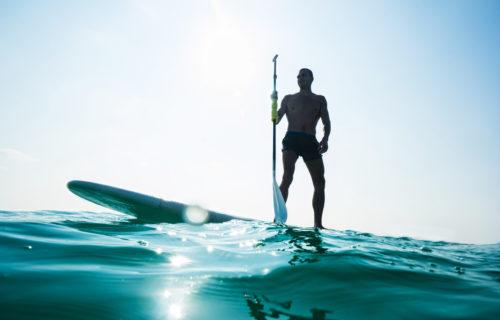 Stand up paddle, vacances d'été