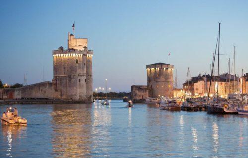 Tours de La Rochelle la nuit