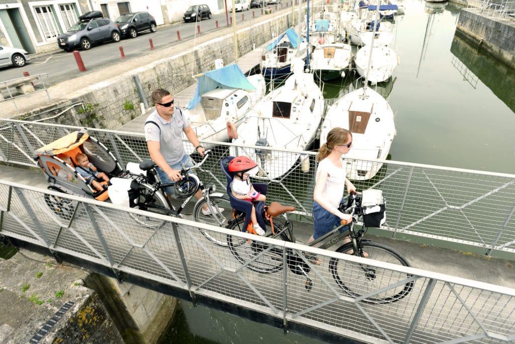 circuit vélo à partir de Marans en Charente-Maritime