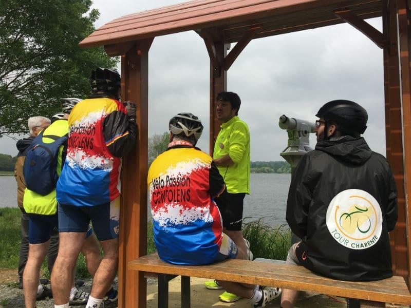 Visite des lacs de haute Charente à vélo