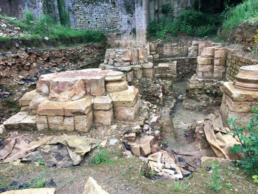 Charente à vélo - Ruines - Abbaye