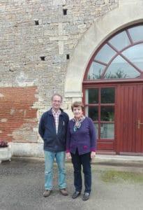 Françoise et Yves Perrin, maraîchers à Poursac