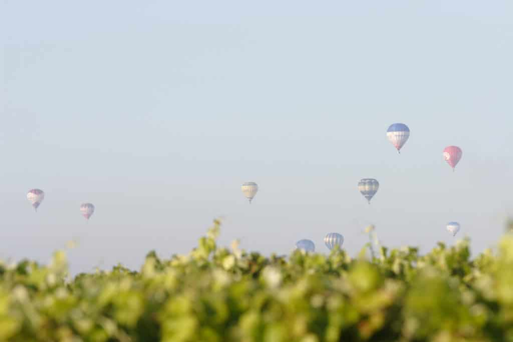 coupe d'europe de montgolfière à Cognac