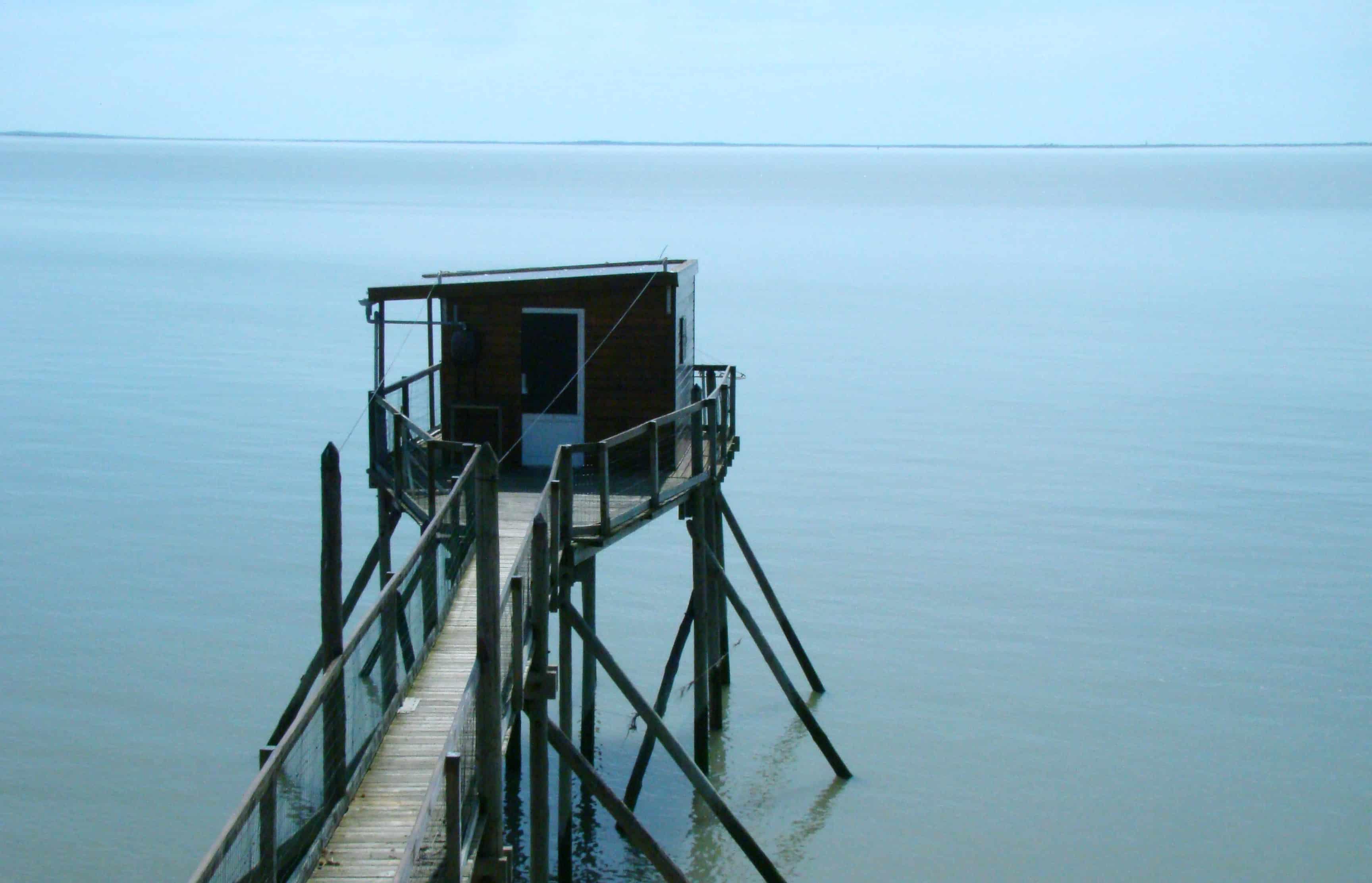Carrelets de Port des Barques Charente-Maritime