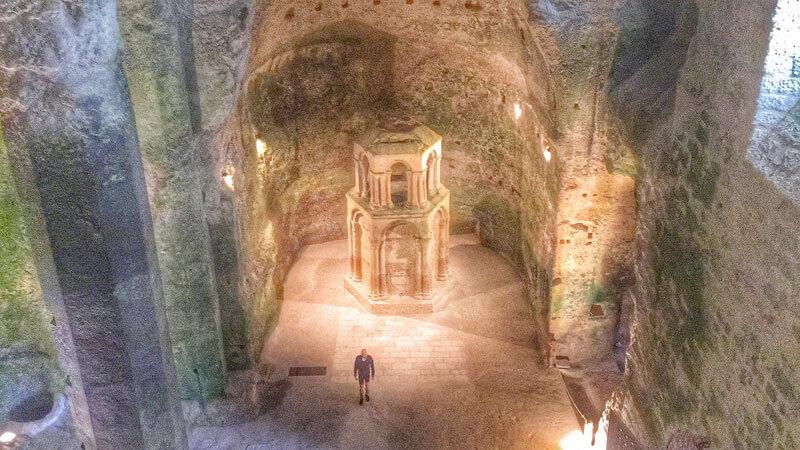 église souterraine de Gurat