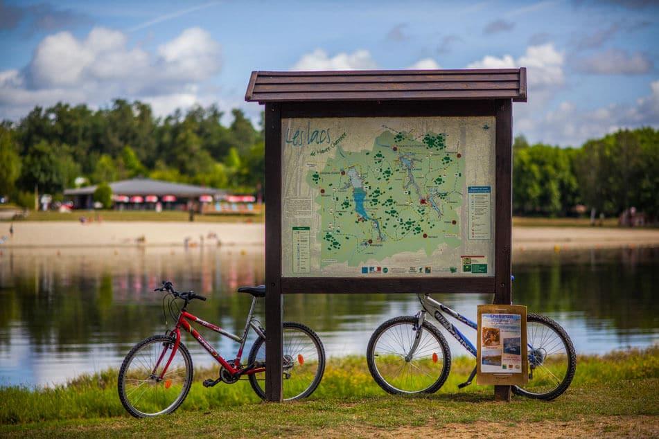 lacs de charente à vélo