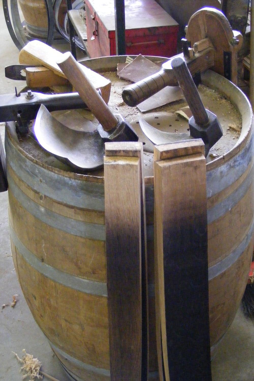 Les outils du tonnelier