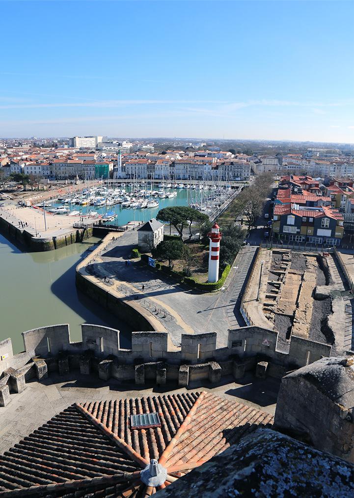 tour de la Chaîne à La Rochelle