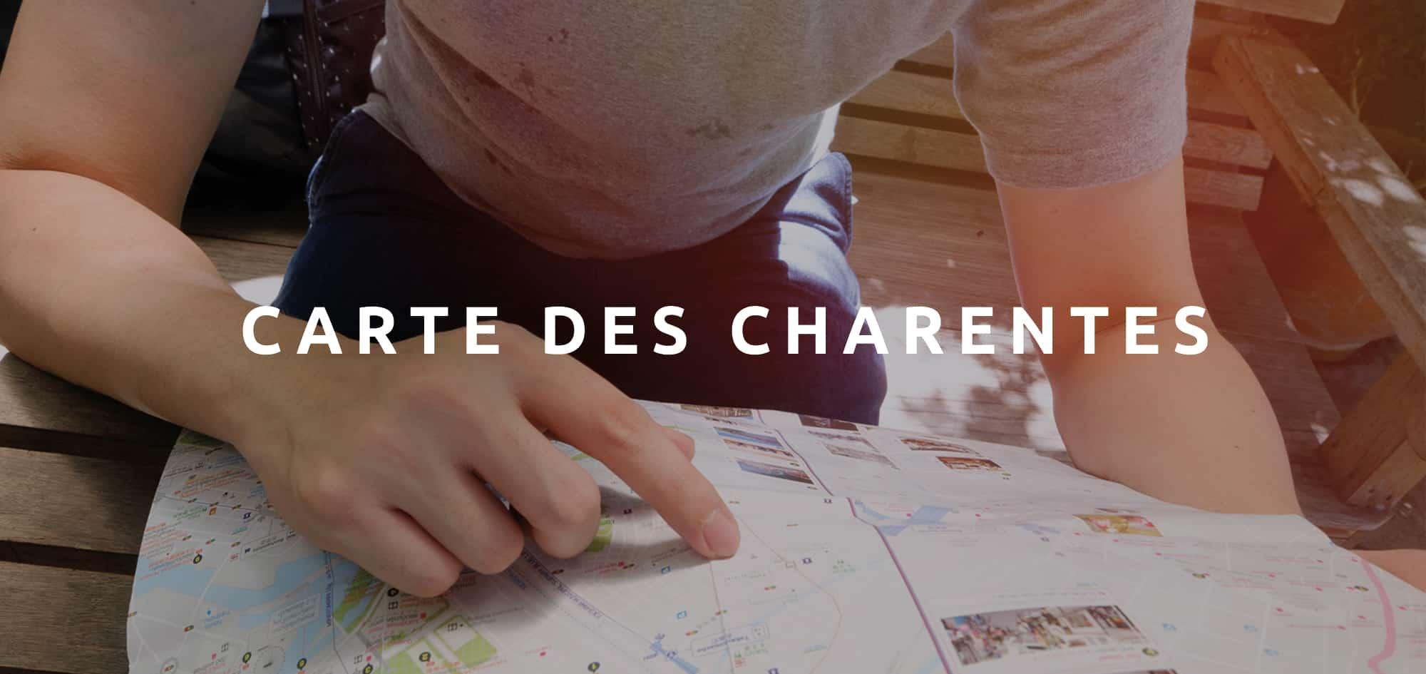 Télécharger la Carte des Charentes