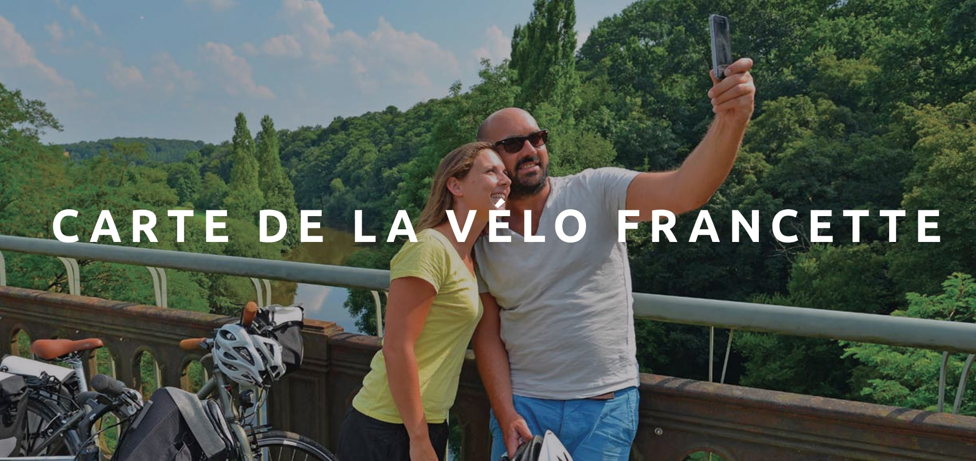 Télécharger la carte de la Vélo Francette