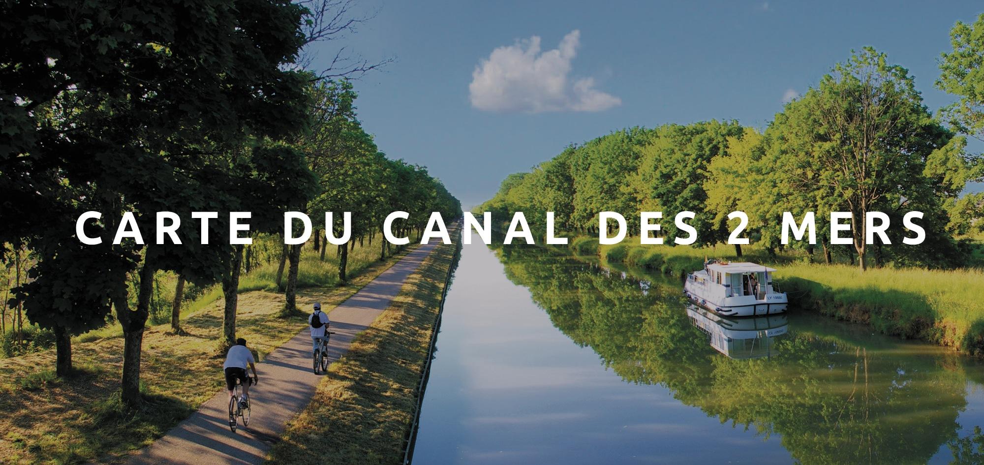 Télécharger la carte du canal des deux mers