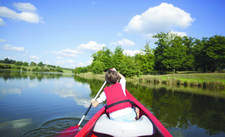 Canoë sur les lacs de Haute Charente