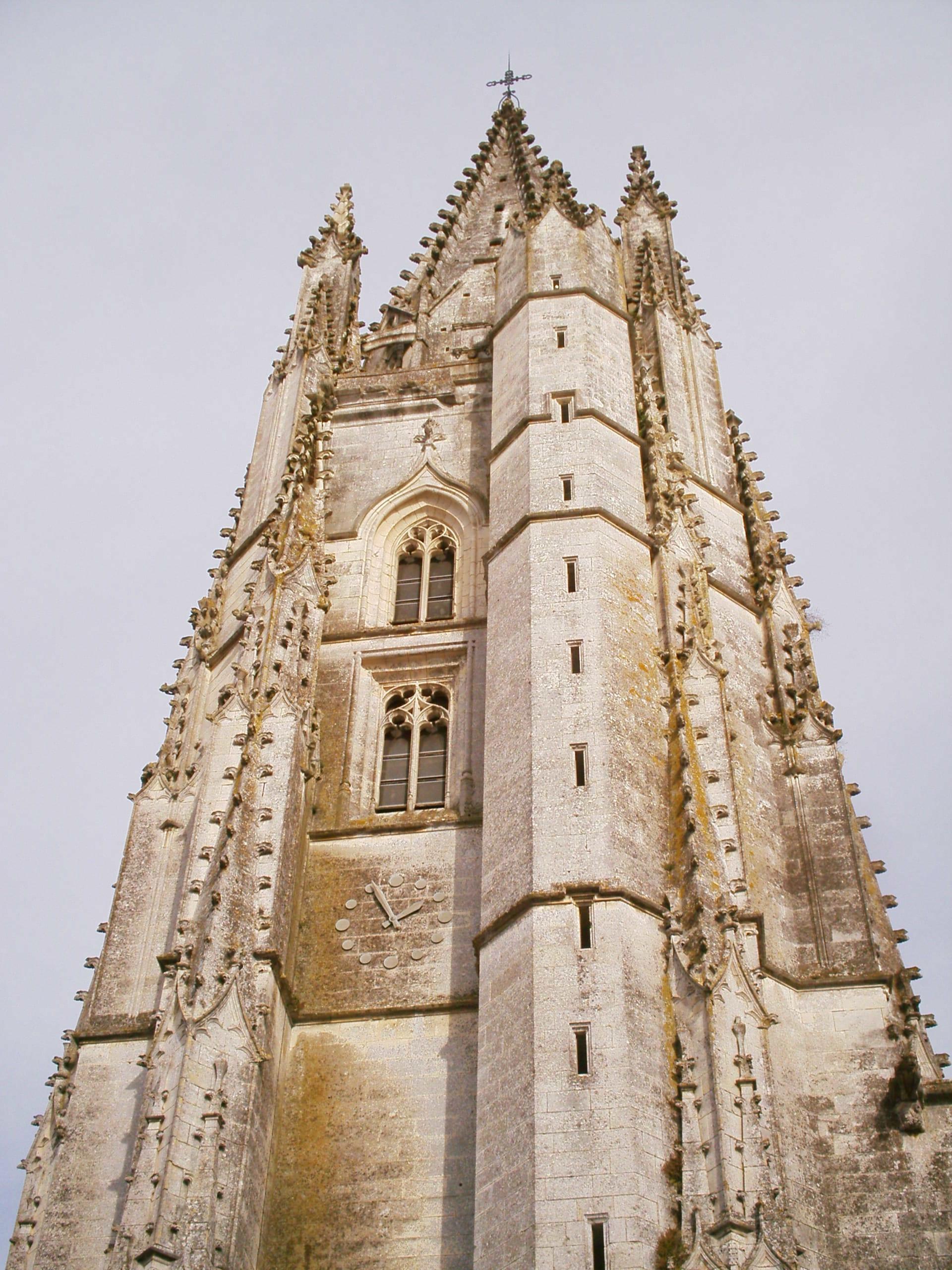 Eglise Sainte Eutrope, Saintes, Charente-Maritime