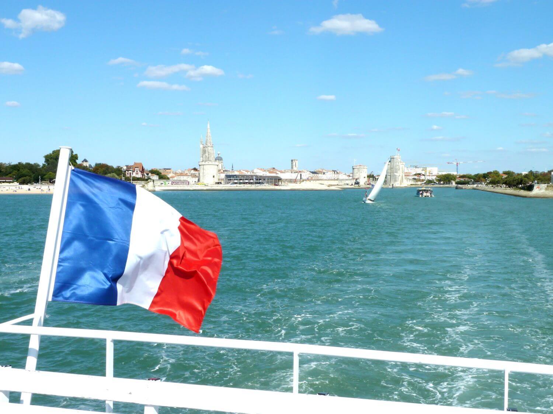 Départ de La Rochelle pour le Fort Boyard