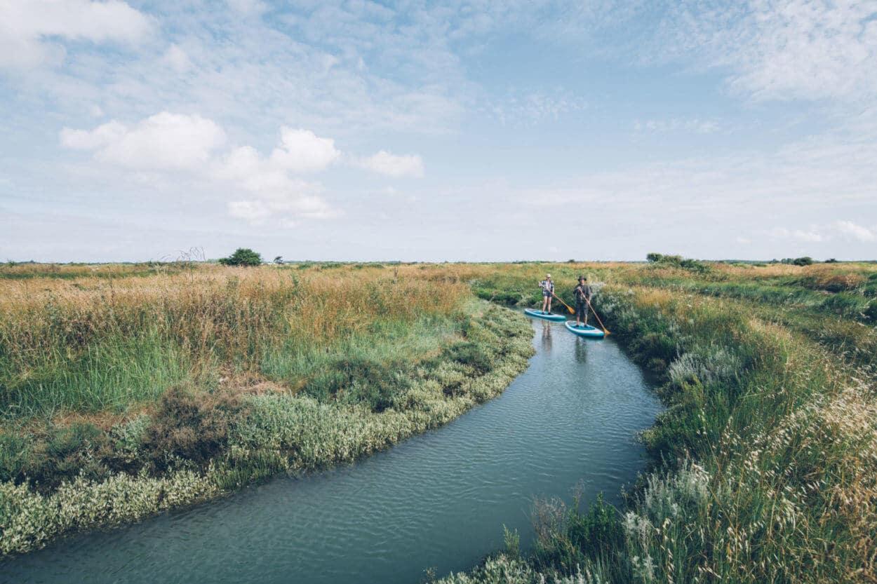 En Paddle à Oléron, avec Elisa et Max-Paddle - activités nature