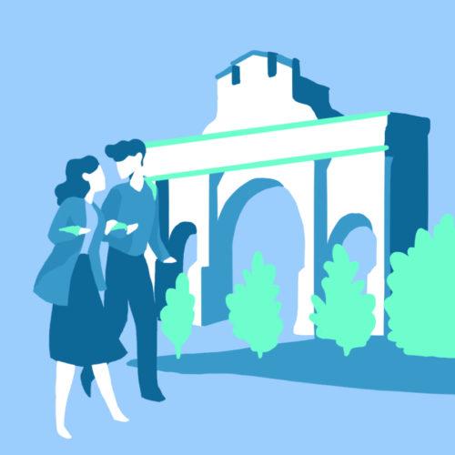 Illustration de la Porte Renaissance à Surgères