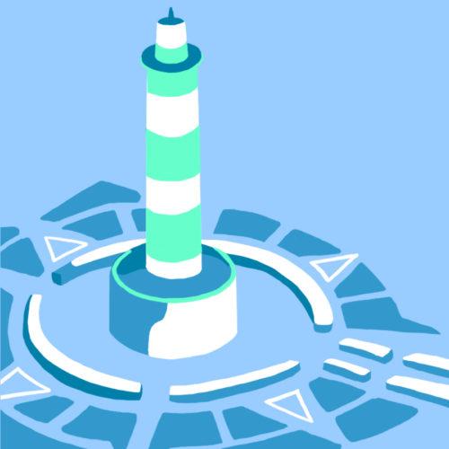 Illustration du phare de Chassiron