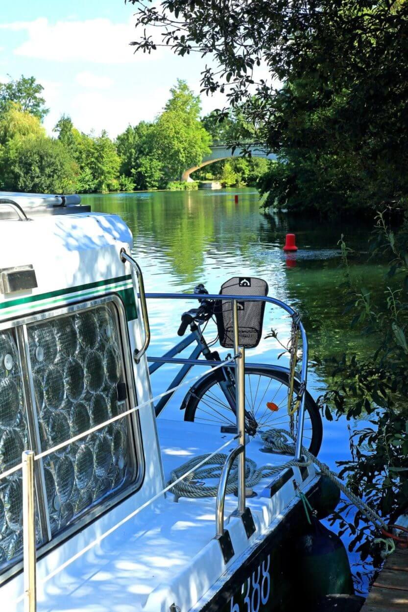 Balade en bateau sur la Charente