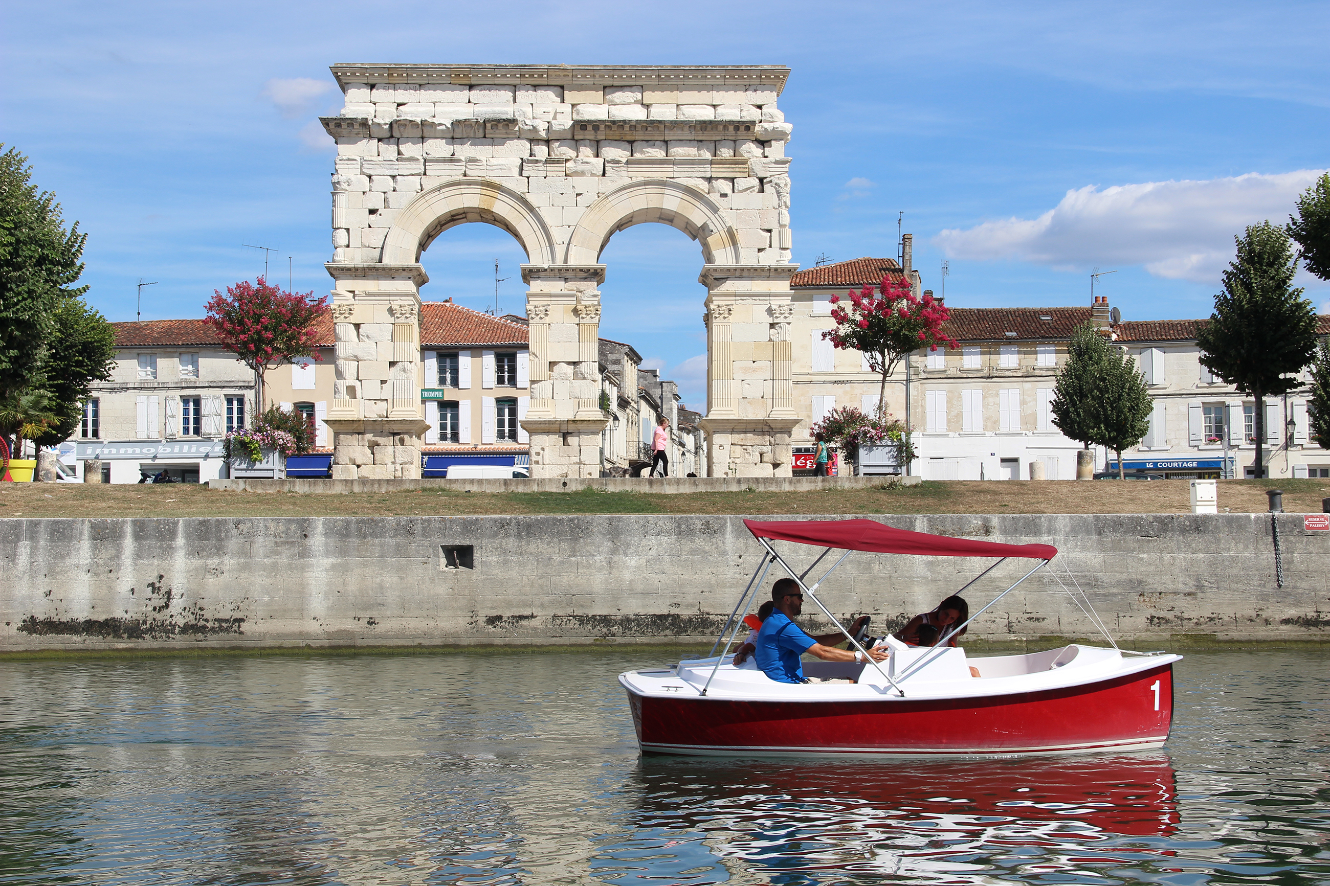 L'Arc de Germanicus à Saintes