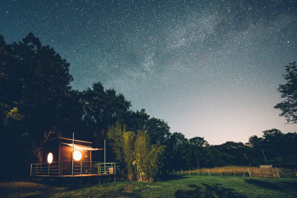 Nuit au Carré d'étoiles à Nieuil, par les Bestjobers