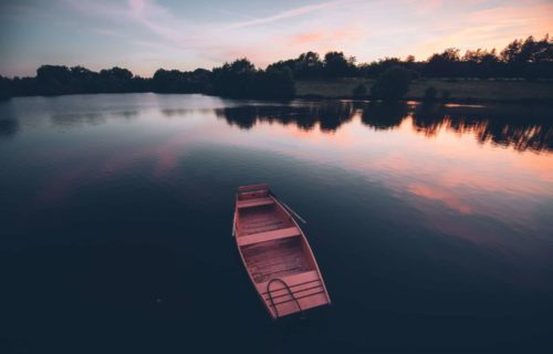 Domaine des étangs, lac, Charente Limousine