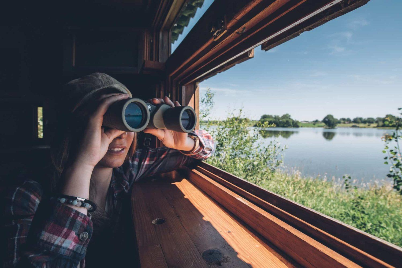 observatoire ornithologique de Foucherie lac de Lavaud Haute-Charente