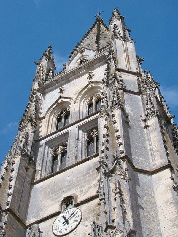 Basilique Saint-Eutrope à Saintes